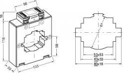 10815  transformateur de courant classique