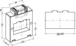 131056 transformateur de courant classique