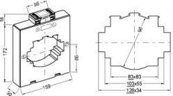 161234  transformateur de courant classique