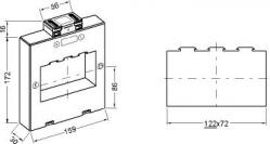 161272  transformateur de courant classique