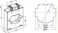 10830  transformateur de courant classique