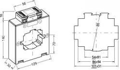 131030  transformateur de courant classique