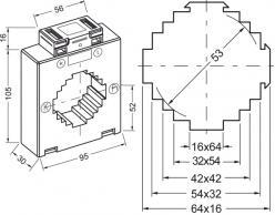 9615  transformateur de courant classique
