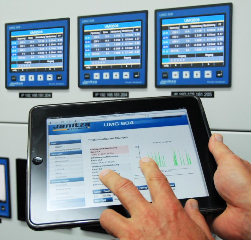 Ipad serveur web supervision gestion consommations energie